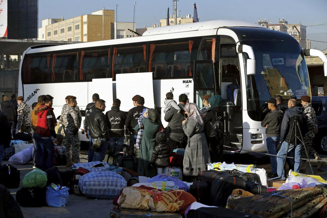 Syrians Deported by Lebanon Arrested at Home                          #HVWHumanRights