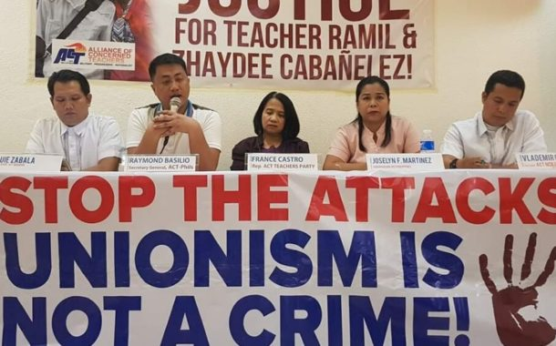ACTU supports day of action against targeted killings in the Philippines                           #HVWLabour