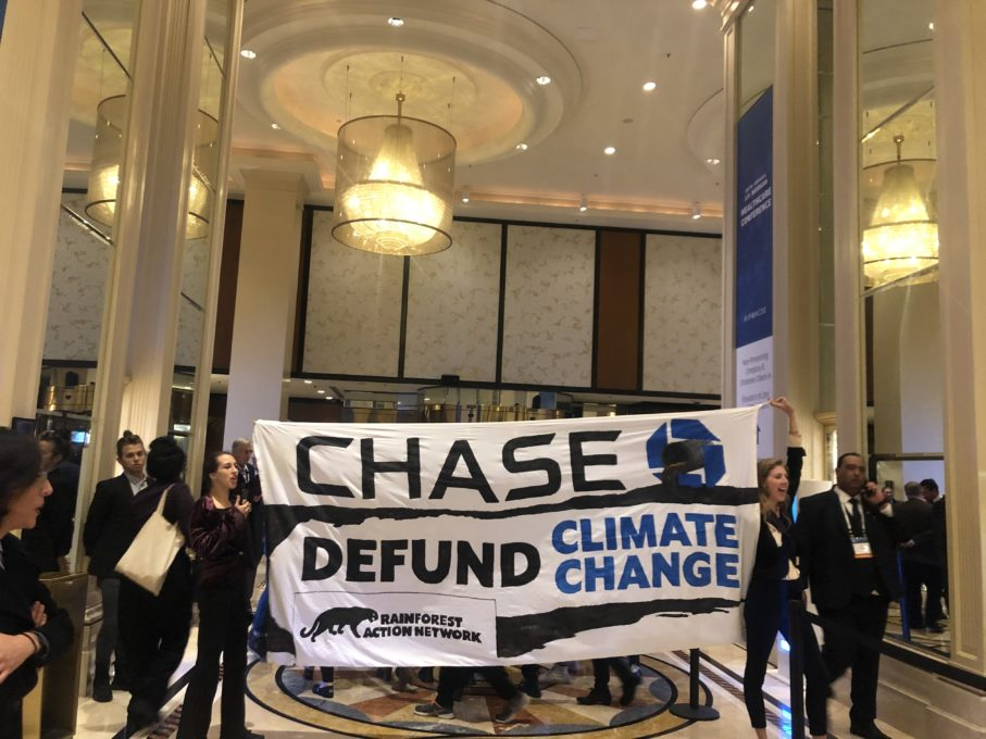 Dozens of People Take Action at J.P. Morgan Healthcare Conference                       #HVWEnvironment